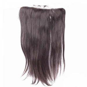 13*6 Lace Frontal With Natural Hairline Silk Straight Brazilian Virgin Hair Lace Frontal