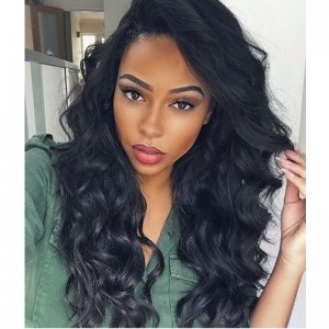 360 Lace Frontal Wigs Brazilian Virgin Hair Body Wave Human Hair Wigs 180% Full Lace Human Hair Wigs