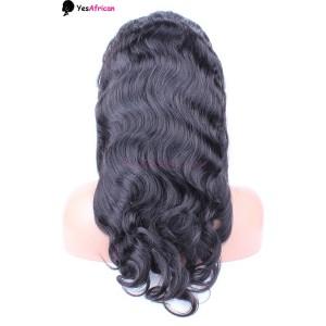Natural Color Body Wave U Part Wigs 100% Unprocessed Brazilian Virgin Human Hair