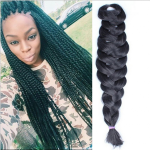 """1 Pieces 24"""" 165G/Pc Senegalese Synthetic Crochet Twist Jumbo Braiding Hair Extensions"""