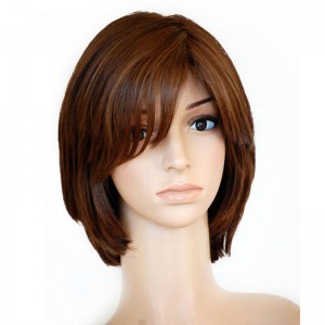 Pure Color Silky Straight Silk Top Full Lace Jewish Wigs European Virgin Hair