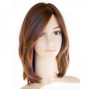 European Virgin Hair Pure Color Silky Straight Jewish Silk Top Full Lace Wigs