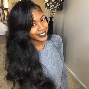 360 Lace Wigs Brazilian Full Lace Human Hair Wigs Body Wave Natural Hair Line 180% Density