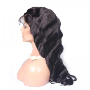 250% Density Wigs Pre-Plucked Human Hair Wigs Body Wave Glueless Full Lace Human Hair Wigs with Baby Hair