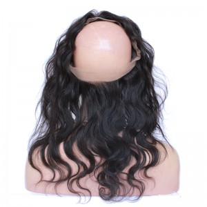 360 Lace Frontal Body Wave Natural Hairline Frontal Closure 360 Lace Band Closure