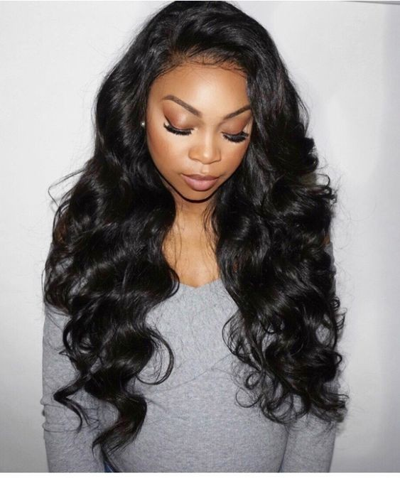 Natural color body wave brazilian virgin human hair glueless full 180 density body wave full lace human hair wigs pre plucked nature black solutioingenieria Gallery