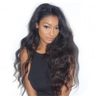Body Wave Lace Front Human Hair Wigs 130% Density Pre-Plucked Natural Hairline