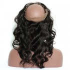 Pre Plucked 360 Lace Frontal Closure Body Wave 22*4*2 Brazilian Virgin Hair Lace Frontal
