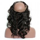 360 Lace Frontal Closure Body Wave Brazilian Virgin Hair Lace Frontal Natural Hairline 22.5*4*2