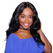 """5X5 Pre Plucked Lace Closure Bleached Knots Body Wave With Baby Hair 10-20"""" Nature Hairline"""