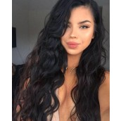 250% Density Lace Front Human Hair Wigs Brazilian Body Wave With Baby Hair