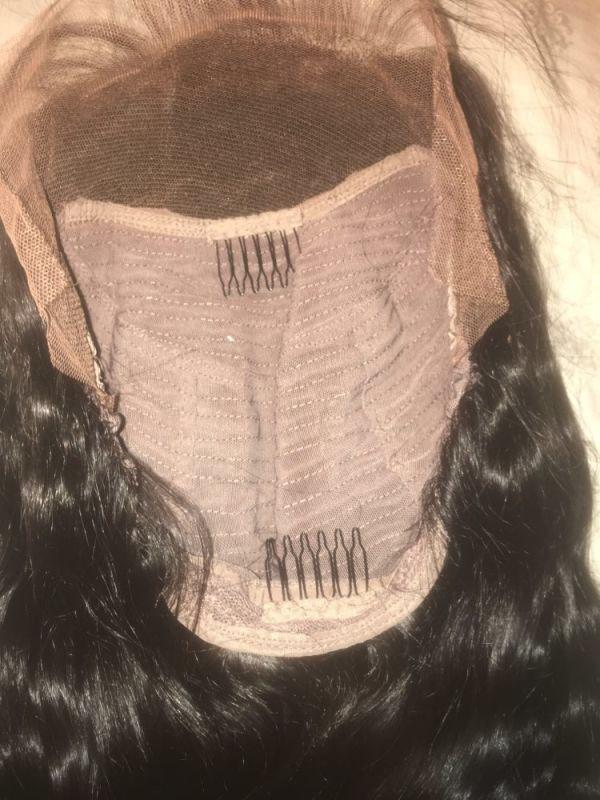 250% Density Full Lace human Hair Wigs Brazilian Virgin Human Hair Body wave Glueless Lace Front Wigs
