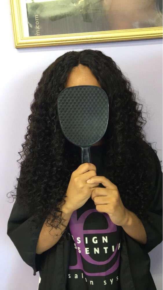 360 Frontal Closure With 3 Bundles Deep Wave Brazilian Virgin Hair 360 Lace Band Frontal Closure