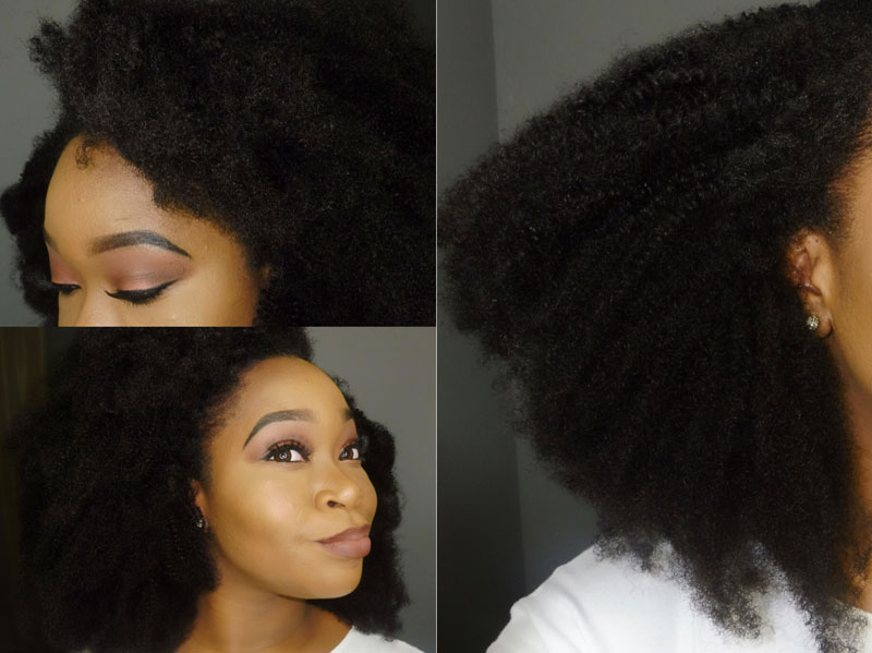 Afro Kinky Curly Mongolian Virgin Hair Clip In Human Hair Extensions Natural Color