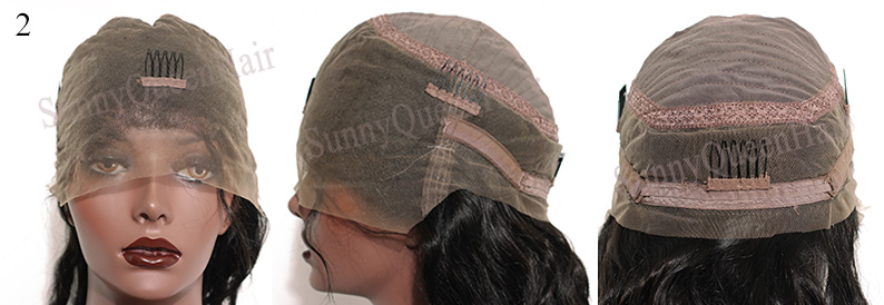SunnyQueenHair.com full lace wig cap,all lace,cap2