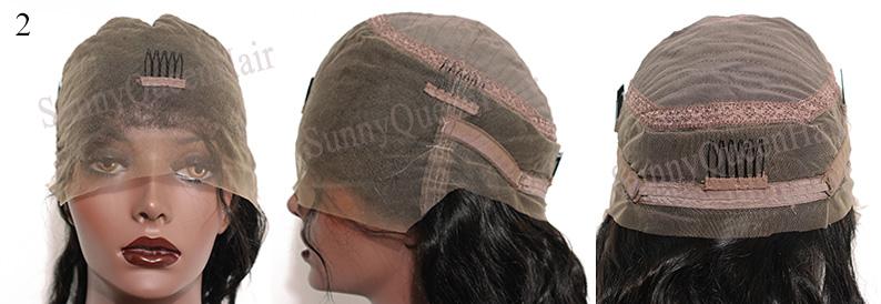 SunnyQueenHair.com full lace wig cap,all lace,cap2