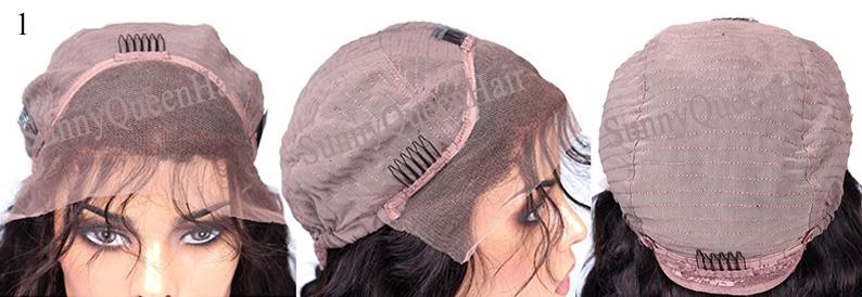 SunnyQueenHair.com full lace wig cap,Full Lace Cap with Stretch,CAP1