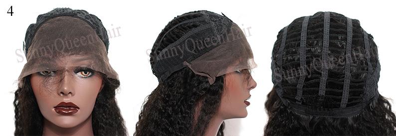 SunnyQueenHair.com Glueless Full Lace Cap,cap4